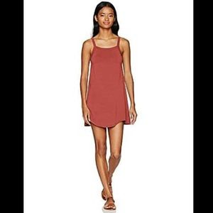 RVCA Thievery small burnt orange tank dress